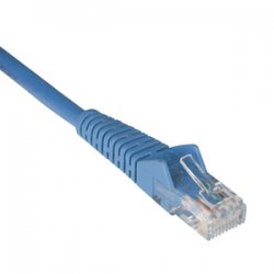 Tripp Lite - N201-020-BL - Tripp Lite 20ft Cat6 Gigabit Snagless Molded Patch Cable RJ45 M/M Blue 20' - 6.1m - 1 x RJ-45 Male - 1 x RJ-45 Male - Blue