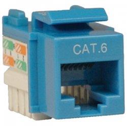 Tripp Lite - N238-001-BL - Tripp Lite Cat. 6/Cat. 5e 110 Punch Down Keystone Jack - RJ-45