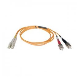 Tripp Lite - N518-20M - Tripp Lite 20M Duplex Multimode 50/125 Fiber Optic Patch Cable LC/ST 65' 65ft 20 Meter - LC Male - ST Male - 65.62ft - Orange