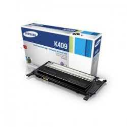 Samsung - CLTK409S - Black Toner For Clp-315 Family 1.5k Page Yield
