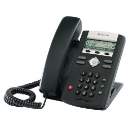 Polycom - 2200-12365-025 - Polycom SoundPoint IP 331 Phone - 2 x RJ-45 10/100Base-TX Fast Ethernet, Sub-mini phone Headset - 2Phoneline(s) - Desktop, Wall-mountable