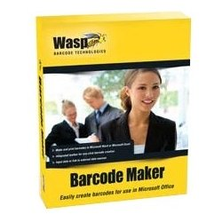 Wasp Barcode - 633808105174 - Wasp Barcode Maker - Box Pack - 10 User - Barcode Labelling - Retail - CD-ROM - PC