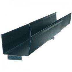 APC / Schneider Electric - AR8016ABLK - APC NetShelter SX Side Channel Cable Trough - Shielding Trough - Black