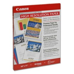 "Canon - 1033A011 - Canon High Resolution Paper - Letter - 8.50"" x 11"" - 100 Sheet - White"