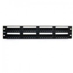 Belkin - C-PP5-48-F-BK - Belkin Cat5e Patch Panel - 48 x RJ-45
