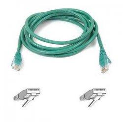 Belkin / Linksys - A3L791-15-GRN-S - Belkin Cat5e Patch Cable - RJ-45 Male Network - RJ-45 Male Network - 15ft - Green