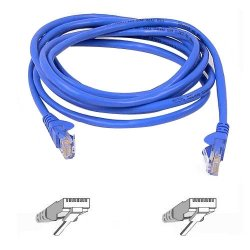 Belkin / Linksys - A3L791-15-BLU-S - Belkin Cat5e Network Cable - RJ-45 Male Network - RJ-45 Male Network - 15ft - Blue