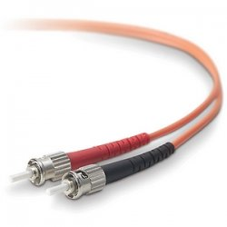 Belkin / Linksys - A2F20200-150 - Belkin Duplex Fiber Optic Patch Cable - ST Male - ST Male - 150ft