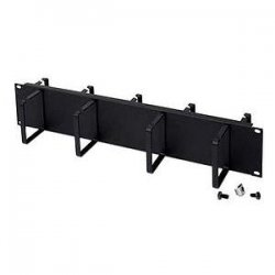 Belkin / Linksys - RK5013 - Belkin Double-Sided 2U Horizontal Cable Manager - Cable Manager - Black - 2U Rack Height
