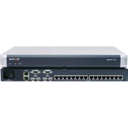 Tripp Lite - 0SU22090A - Minicom by Tripp Lite Smart 216 KVM Switch - 16 Computer(s) - 1600 x 1200 - 16 x Network (RJ-45) - 4 x USB2 x VGA - Rack-mountable - 1U