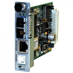 Transition Networks - CBFFG1029-105 - Transition Networks Point System CBFFG1029-105 Network Interface Device - 1 x Network (RJ-45) - 1 x SC Ports - 10/100/1000Base-T, 1000Base-BX - Internal