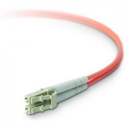 Belkin / Linksys - F2F402LL-09M - Belkin Fiber Optic Duplex Patch Cable - LC Male - LC Male - 29.53ft - Orange