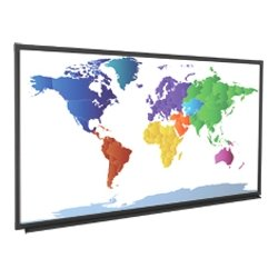 Da-Lite - 24126 - Da-Lite IDEA Projection Screen - 87 - 16:10 - Wall Mount - 46 x 73.5