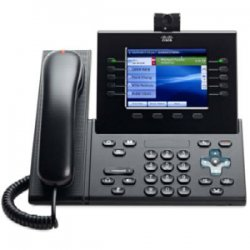 Cisco - CP-89/9900-HS-C= - Cisco CP-89/9900-HS-C= Spare Standard Handset for IP Phone - Charcoal