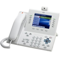 Cisco - CP-89/9900-HS-WL= - Cisco CP-89/9900-HS-WL= Spare Slimline Handset for IP Phone - White
