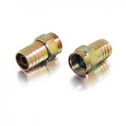C2G (Cables To Go) / Legrand - 41081 - C2G RG6 Hex Crimp F-Type Connector - 10pk - F Connector