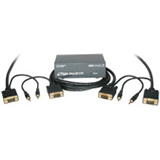 C2G (Cables To Go) - 50102 - C2G 2-Port VGA Splitter with Audio