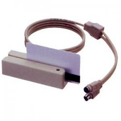 Uniform Industrial (UIC) - MSR210D-12AHKNR - Uniform Industrial MSR210D Magnetic Stripe Reader - Dual Track - Black