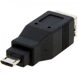 StarTech - UUSBUSBBMF - StarTech.com Micro USB to USB B Adapter M/F - 1 x Type B Male Micro USB - 1 x Type B Female USB - Black
