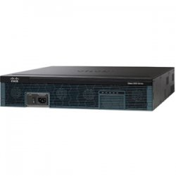 Cisco - C2921-VSEC-SRE/K9 - Cisco 2921 Integrated Services Router - 3 Ports - Management Port - 12 Slots - Gigabit Ethernet - 2U - Rack-mountable