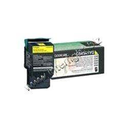 Lexmark - C540A4YG - Lexmark Return Program Yellow Toner Cartridge - Laser - 1000 Page - Yellow