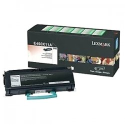 Lexmark - E460X41G - Lexmark Return Program Black Toner Cartridge - Laser - 15000 Page - Black