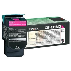 Lexmark - C544X4MG - Lexmark Toner Cartridge - Magenta - Laser - Extra High Yield - 4000 Pages