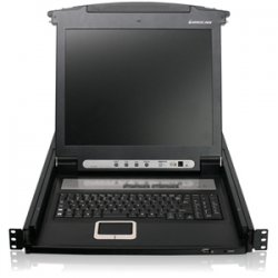 IOGear - GCL1816KIT - IOGEAR GCL1816KIT Rackmount LCD - 16 Computer(s) - 17 LCD - SXGA - 1280 x 1024 - 1 x USB - Daisy Chain - TouchPad