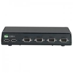 Digi International - 301-1002-08 - Digi Edgeport/8 Multiport Serial Adapter - 8 x DB-9 Serial - External Hot-swappable