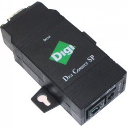 Digi International - DC-SP-01R-S - Digi Digi Connect SP DC-SP-01R-S Device Server - Twisted Pair - 1 x Network (RJ-45) - 1 x Serial Port - 10/100Base-TX - Fast Ethernet