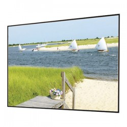Draper - 252170 - Draper Clarion with Veltex 252170 Fixed Frame Projection Screen - 49 x 110 - M1300 - 115 Diagonal