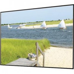 Draper - 252188 - Draper Clarion Fixed Frame Projection Screen - 148 - 2.35:1 - Wall Mount - 62 x 140.3 - ClearSound Grey Weave XH600E