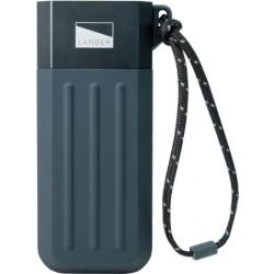 BodyGuardz - 252B0-00CAS-3C0 - LANDER Cascade Powerbank (5200 mAh) - For USB Device, Tablet PC, Mobile Phone, MP3 Player - 5200 mAh - 2.10 A - 5 V DC Output - 5 V DC Input - 2 x - Gray