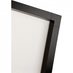Draper - 253122 - Draper ShadowBox Clarion 253122 Fixed Frame Projection Screen - 110 - 16:9 - 57 x 99 - HiDef Grey