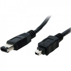 StarTech - 1394-46-15 - StarTech.com 15 ft IEEE-1394 Firewire Cable 4-6 M/M - Male FireWire - Male FireWire - 15ft