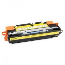 Verbatim / Smartdisk - 95346 - Verbatim Remanufactured Laser Toner Cartridge alternative for HP Q2672A Yellow - Yellow - Laser - 4000 Page