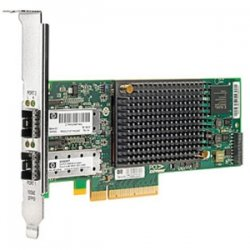 Hewlett Packard (HP) - 581201-B21 - HP-IMSourcing IMS SPARE NC550SFP Dual Port Fiber Optic Card - PCI Express x8 - Optical Fiber - Full-height