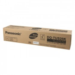 Panasonic - DQTUS28K - Panasonic Black Toner Cartridge - Laser - 28000 Page - Black
