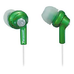 Panasonic - RP-HJE270-G - Earphone - Wired - Inner Earbud - 6-24000