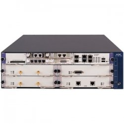 Hewlett Packard (HP) - JD433A#ABA - HP A-MSR50-40 Multi-Service Router - 4 Slots - 3U - Rack-mountable