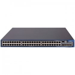 Hewlett Packard (HP) - JD370A#ABA - HP A5500-48G SI Ethernet Switch - 48 Ports - Manageable - 6 x Expansion Slots - 10/100/1000Base-T - 48 x Network, 4 x Expansion Slot - Gigabit Ethernet, Fast Ethernet - Shared SFP Slot - 4 x SFP Slots - 3 Layer
