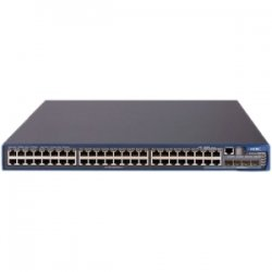 Hewlett Packard (HP) - JD375A#ABA - HP A5500-48G EI Layer 3 Switch - 48 Ports - Manageable - Stack Port - 10/100/1000Base-T - 48 x Network, 4 x Expansion Slot - Gigabit Ethernet, Fast Ethernet - Shared SFP Slot - 4 x SFP Slots - 3 Layer Supported - 1U