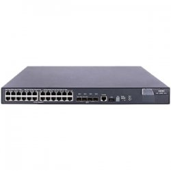 Hewlett Packard (HP) - JC099A#ABA - HP A5800-24G-PoE Layer 3 Switch - 4 x 10 Gigabit Ethernet Expansion Slot - Manageable - 3 Layer Supported - 1U High - Rack-mountable - Lifetime Limited Warranty