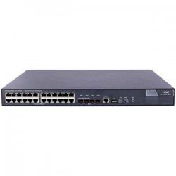 Hewlett Packard (HP) - JC100A#ABA - HP A5800-24G Layer 3 Switch - 24 Ports - Manageable - 5 x Expansion Slots - 10/100/1000Base-T - 24 x Network, 4 x Expansion Slot - Gigabit Ethernet, Fast Ethernet - 4 x SFP+ Slots - 3 Layer Supported - 1U High -