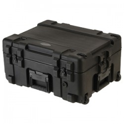SKB Cases - 3R2217-10B-DW - SKB 3R Roto Molded Waterproof Case - Internal Dimensions: 22 Width x 17 Depth x 10.50 Height - 17 gal - Latching Closure - Polyethylene - Black - For Military