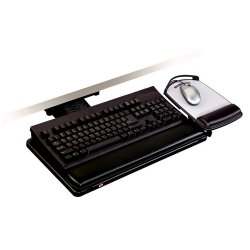 """3M - AKT101LE - 3M Adjustable Keyboard Tray - 7.2"""" Height x 11.7"""" Width"""