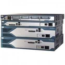 Cisco - C2821-VSEC-CCME/K9 - Cisco 2821 Integrated Services Router - 1 x NME-X, 3 x PVDM - 2 x 10/100/1000Base-T LAN, 2 x USB