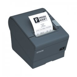 "Epson - C31CA85834 - Epson TM-T88V Direct Thermal Printer - Monochrome - Desktop - Receipt Print - 3.15"" Print Width - 11.81 in/s Mono - 4 KB - USB - Parallel - Plain Paper, Direct Thermal Paper - 3.27"" Roll Diameter - 3.27"" Label Width"