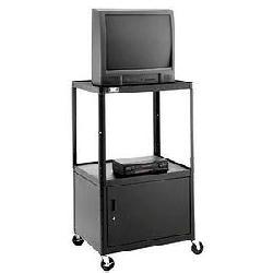 Da-Lite - 4853 - Da-Lite AV7UL-49 PIXMobile Monitor/Television Cart - 3 x Shelf(ves) - 49 Height x 32 Width x 22 Depth