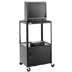 Da-Lite - 7003 - Da-Lite AV8-44LT PIXMobile Monitor/Television Cart - 3 x Shelf(ves) - 44 Height x 38 Width x 24 Depth